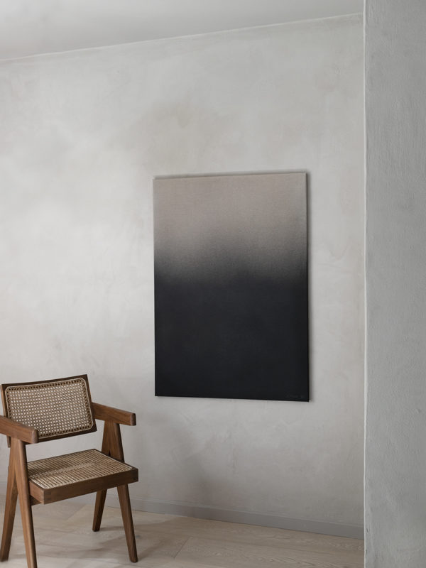 Anne Nowak - Black Haze (Canvas)