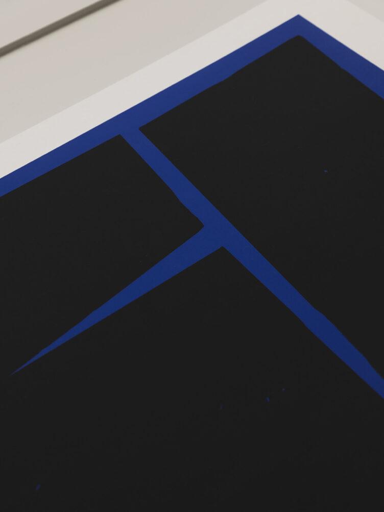 Carsten Beck - Blue Geometric 02