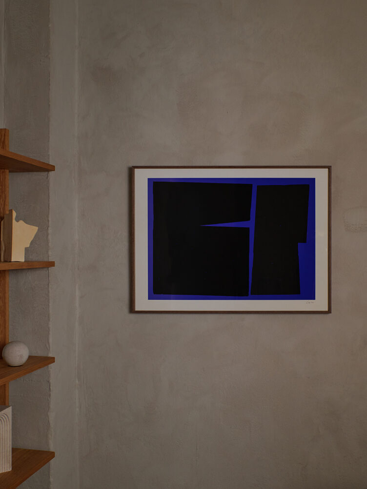 Carsten Beck - Blue Geometric 02