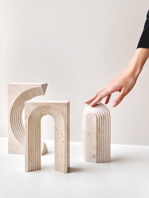Norm Architects - Vault Series Moleanos Limestone