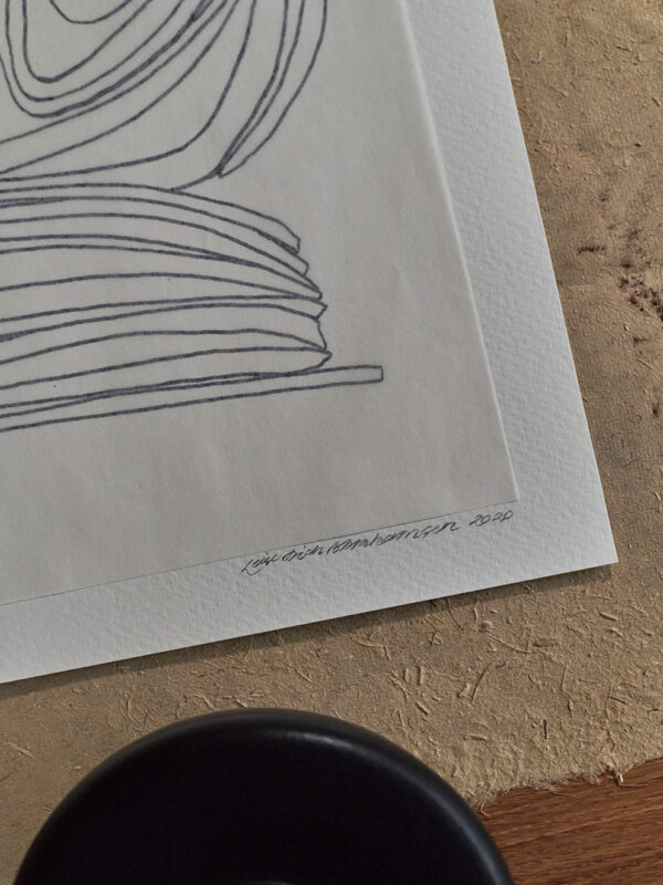 Leise Dich Abrahamsen - Lines and Notes 02